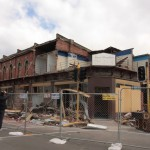 Damaged Buildings in Christchurch Earthquake