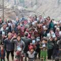 A village in the Himalayas receiving Bibles. Source: YWAM Kona, Hawaii.