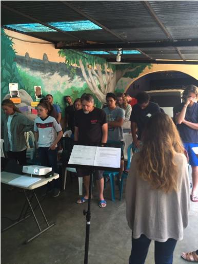 YWAM – Antigua praying for YWAM ships in April
