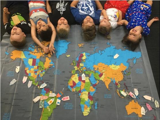 Map Kids Ships