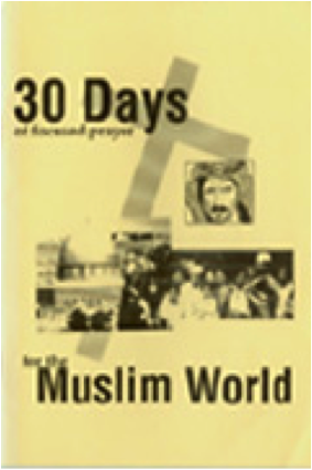 Original 30 Days Prayer Guide Cover