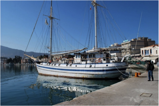YWAM's Next Wave Docked in Lesbos, Greece