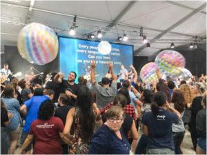 Merayakan Spheres di YWAM Together 2016