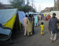 Homeless Christian families in Pakistan
