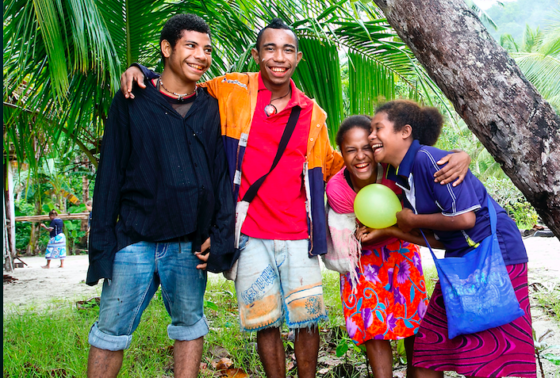 Group of YWAM Students in Papua New Guinea