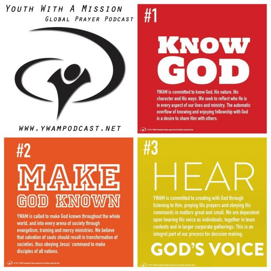Ywam foundational values 1 3 ywam news that bill finds interesting if you sense god giving you a word or a direction for ywams prayer please contact us prayerywam stopboris Image collections